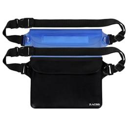 Zacro® 2-in-1 Wasserdichte Tasche mit Verstellbarem Gurt